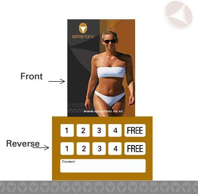 Client Loyalty Cards  4+1 FREE product picture